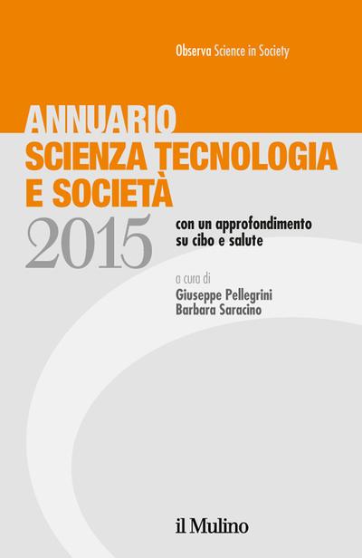 Cover Annuario Scienza Tecnologia e Società
