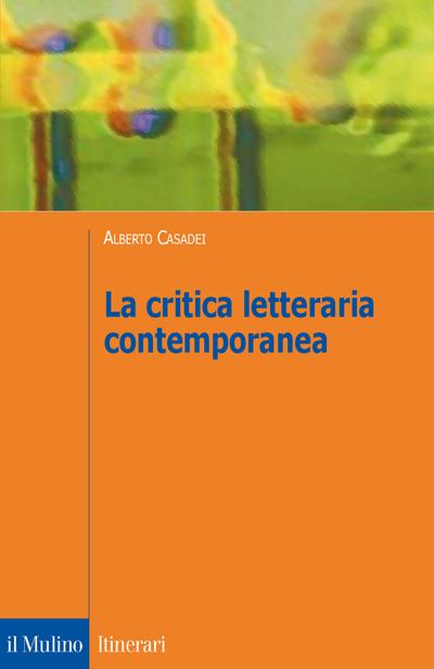 Cover La critica letteraria contemporanea