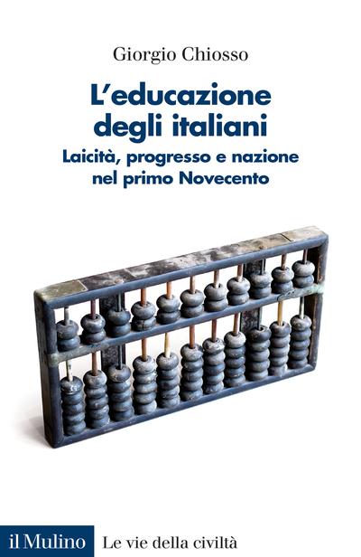 Cover L'educazione degli italiani