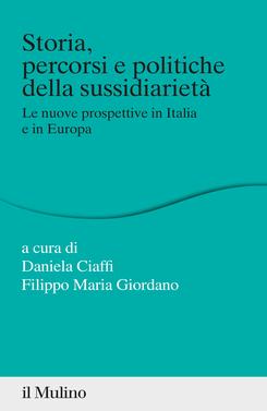 copertina Storia, percorsi e politiche della sussidiarietà