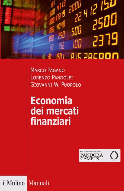 Cover Economia dei mercati finanziari